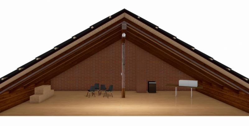 Asbesthaus - Dachboden