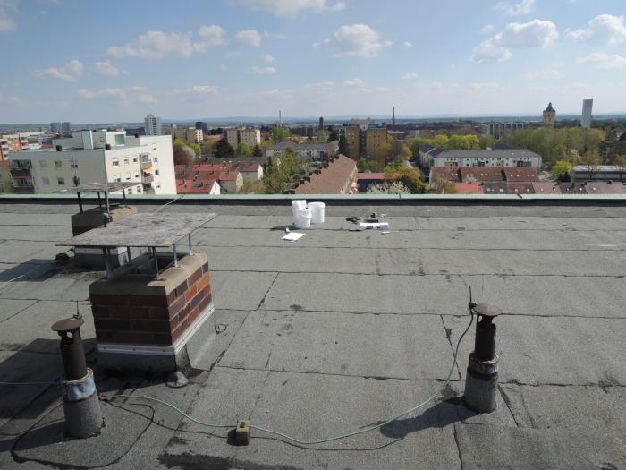 Asbest KMF Dachpappen